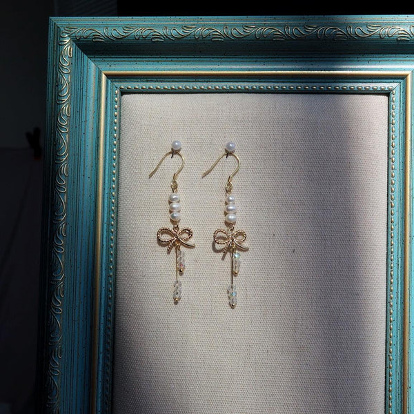 Bow Earrings 001 - Abbott Atelier