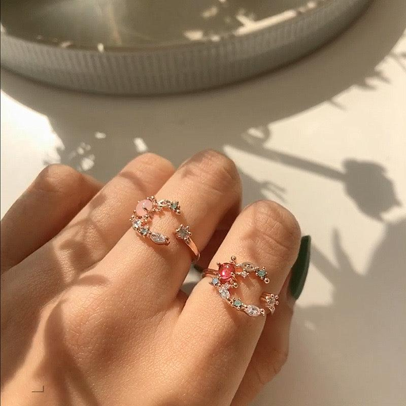[SAMPLE SALE] Crescent Moon Ring 005