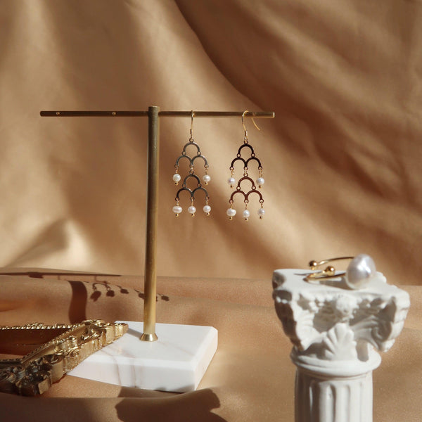 Baroque Earrings 091 - Abbott Atelier