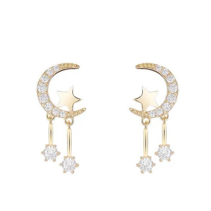 Moon & Star Earrings 241