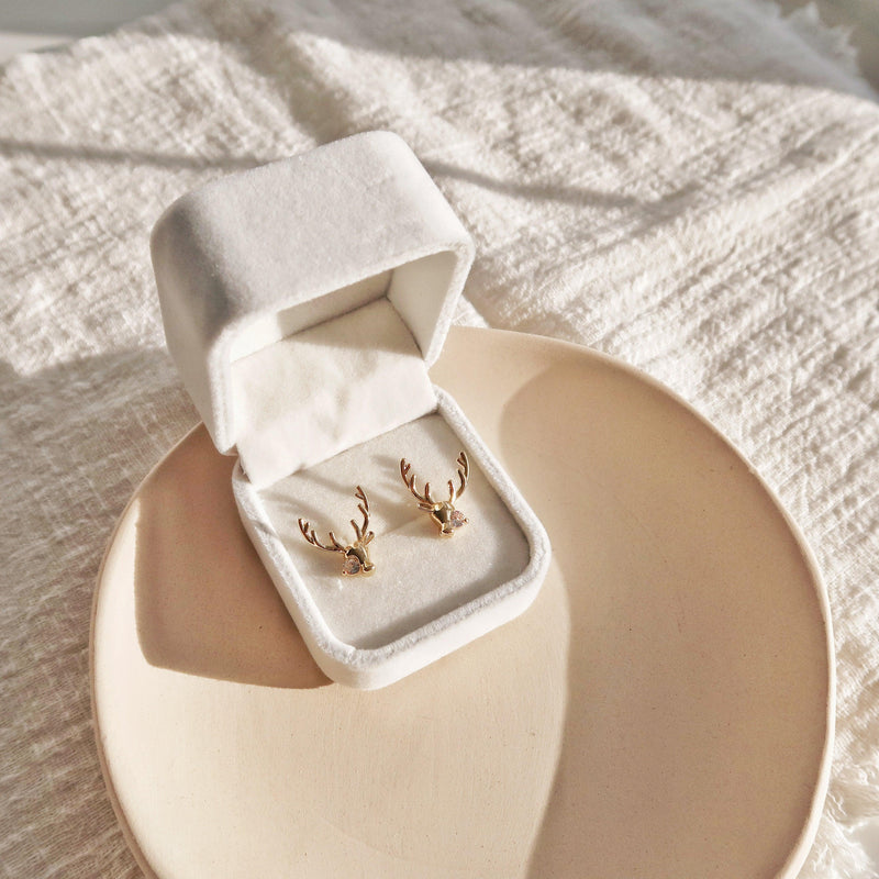 Deer Earrings 152 - Abbott Atelier