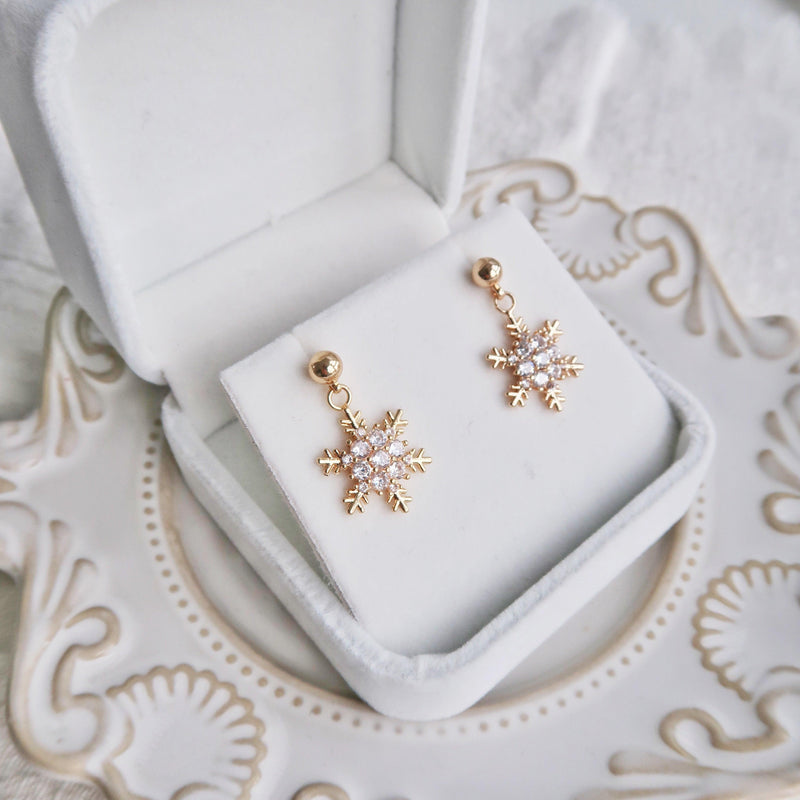 Snowflake Earrings 172 - Abbott Atelier