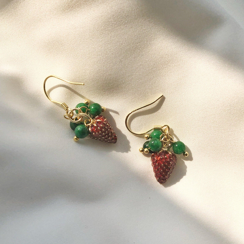 Strawberry Earrings 002 - Abbott Atelier