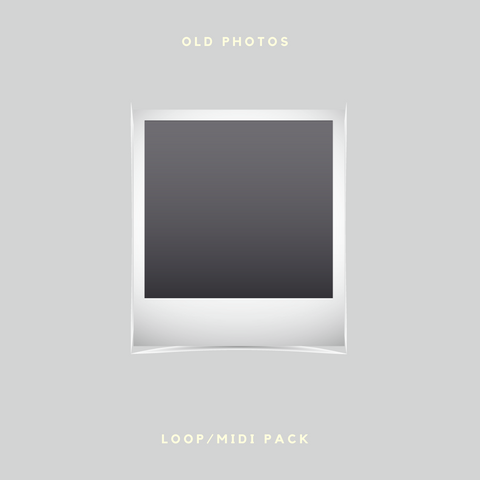 [Free] Old Photos Lofi Loop/MIDI Kit