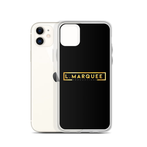 L. Marquee Productions Logo iPhone Case