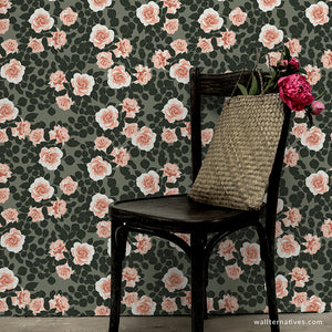 Pruning Roses Bonnie Christine Removable Wallpaper