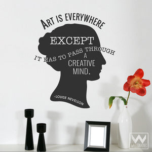 Wall Art and Wall Quote Vinyl Wall Decals - Wallternatives
