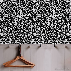 Scribbles Removable Wallpaper