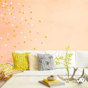 Chic Circles and Dots Shapes for Wall Art - Wall Decals from Wallternatives