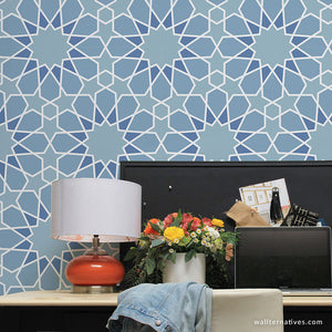 Moorish Maze Removable Wallpaper