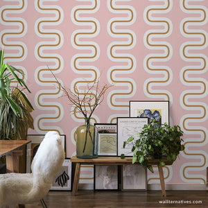 Seismic Waves Removable Wallpaper