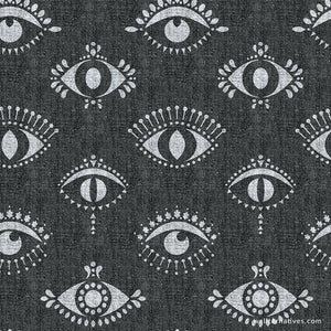 Modern Evil Eyes Removable Wallpaper Protective Eye Wall Art Decals Wallternatives