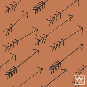 Decorating with Bonnie Christine Designer Patterns in Kids Room Decor - Modern Tribal Arrows Removable Wallpaper