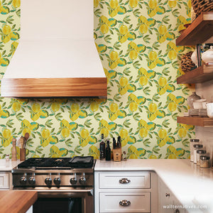 Lemons Bari J. Removable Wallpaper