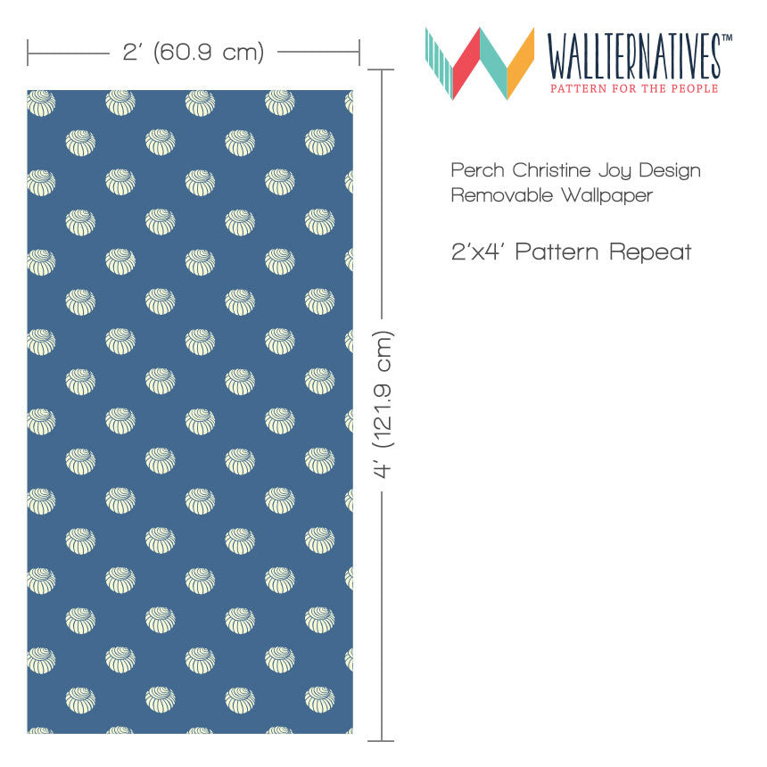 ... Nautical U0026 Beach Decor U0026 Shell Pattern Designer Wallpaper   Removable  Wallpaper From Wallternatives Part 71