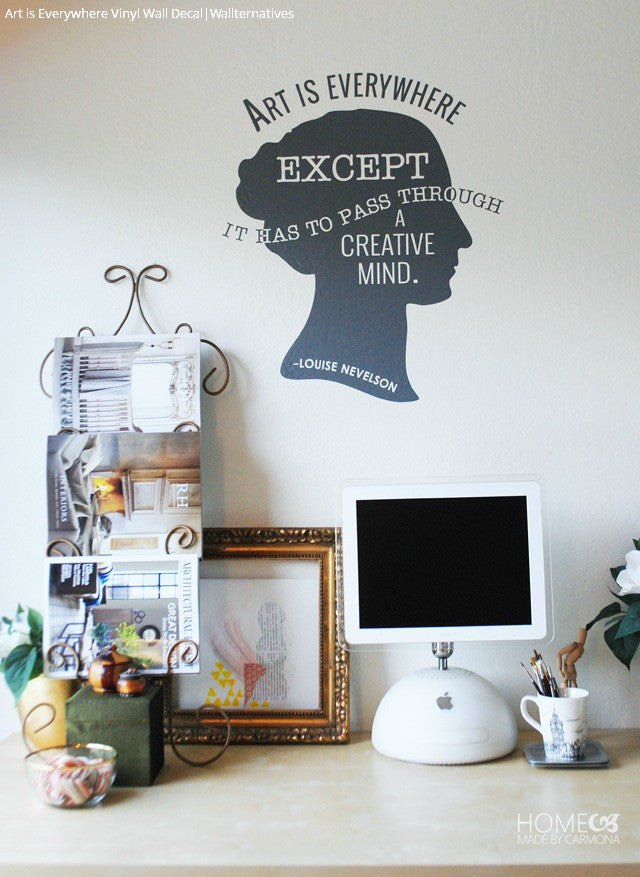 ... Wall Art And Wall Quote Vinyl Wall Decals   Wallternatives