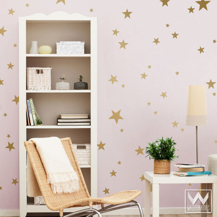 Decorate A Cute Nursery Or Kids Room With These Star Stickers U0026 Decals U2013  Wallternatives