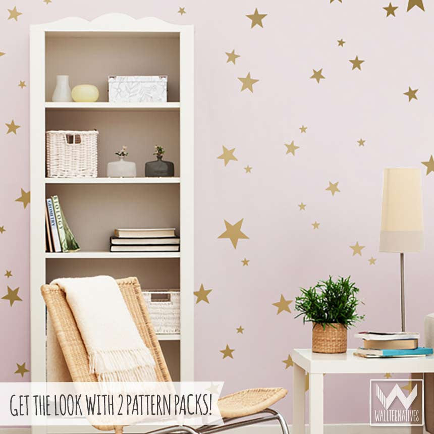 ... Decorate Kids Rooms Or Nursery With Peel And Stick Stars Vinyl Wall  Decals ... Part 76