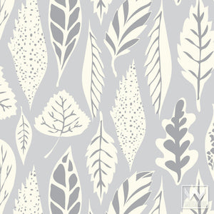 Fast & Easy Decorating with Removable Wallpaper - Designer Bonnie Christine Modern Tree Leaf Patterns for Nursery Decor