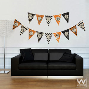 Adhesive Halloween Party Decorations Removable Wall Decals - Wallternatives