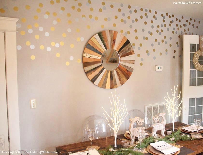 ... Modern Wall Decor In Girls Room Or Dorm Room   Colorful Circles Wall  Decals ... Part 80
