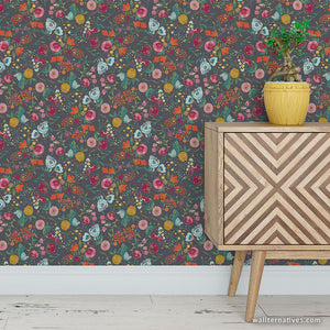 Budquette Bari J. Removable Wallpaper - Black