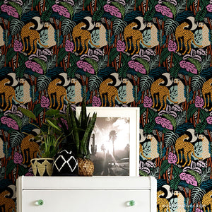 In the Jungle Removable Wallpaper