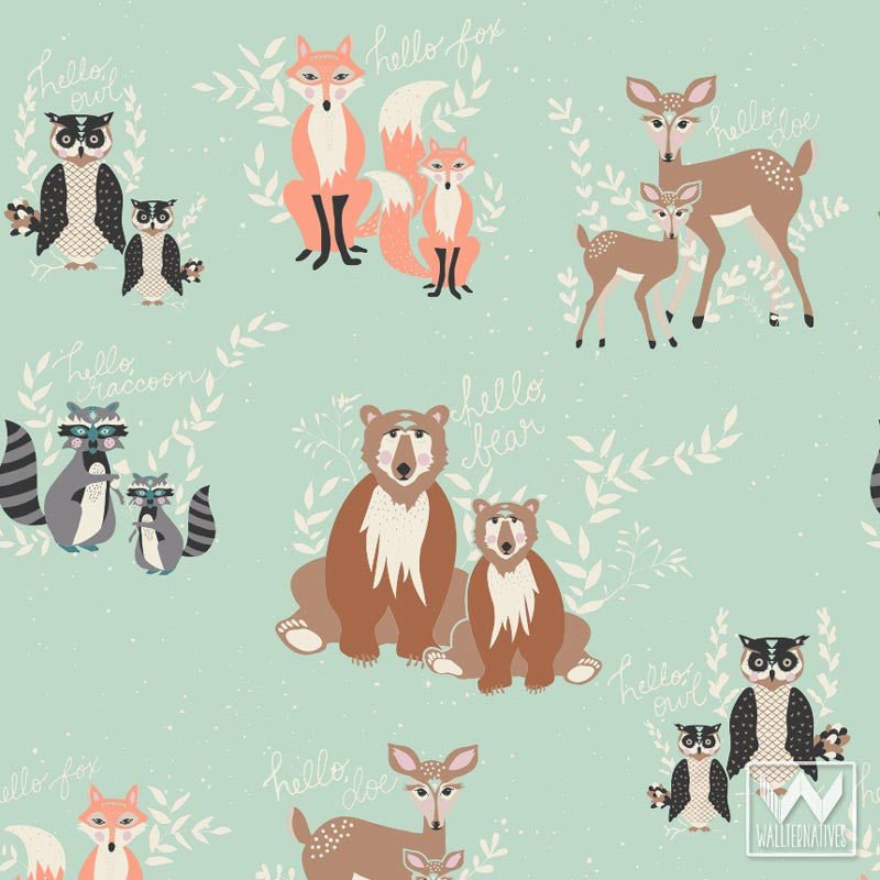 Decorate Boys Nursery Decor with Cute Forest Animal Patterns from