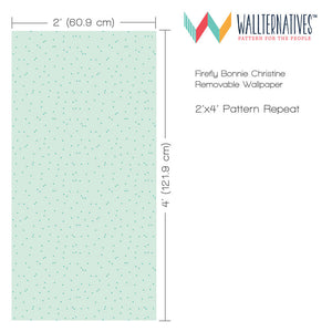 Modern Polka Dots Peel and Stick Wallpaper with Designer Bonnie Christine Patterns - Wallternatives