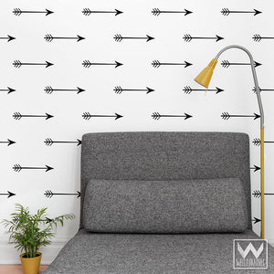 Small Arrows Wall Pattern Bedroom Wall Decals for Decorating - Wallternatives