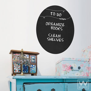 To Do List Chalkboard Vinyl Wall Decals and Stickers - Wallternatives