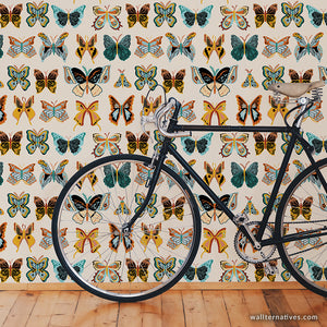 Wingspan Bonnie Christine Wallpaper - Cream