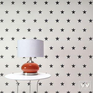Stars Wall Decals and Wall Stickers for Easy Removable Dorm Decor and Kids Room