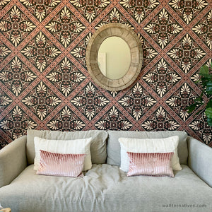 Mediterranean Tile Removable Wallpaper