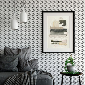 Ashanti Arrows Removable Wallpaper