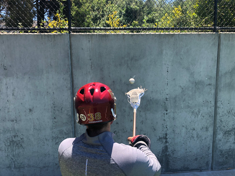 D1 Lacrosse - Wall Ball Routine