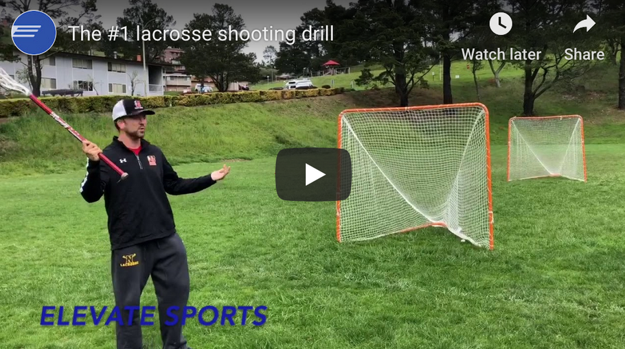 #1 Lacrosse shooting drill you can't do without