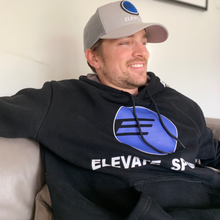 Load image into Gallery viewer, Elevate Sports Snap Back Hat and Elevate Sweatshirt