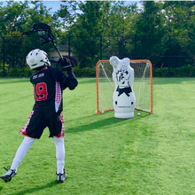 Load image into Gallery viewer, 11th man junior box lacrosse goalie dummy