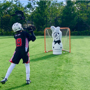 11th man junior box lacrosse goalie dummy