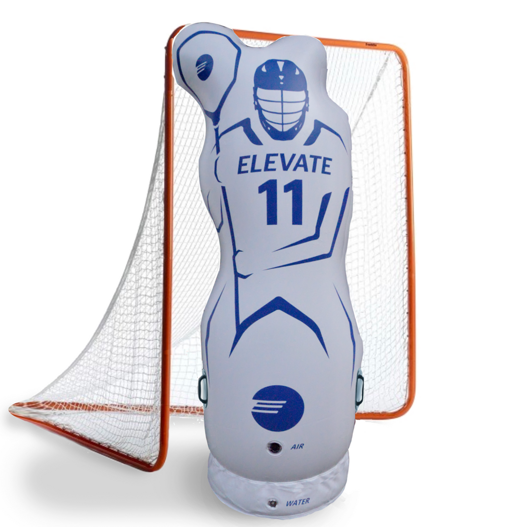 11th man inflatable lacrosse goalie and defender mannequin