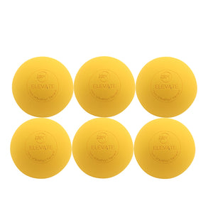 Elevate Lacrosse balls - Come in yellow or white for boys or girls