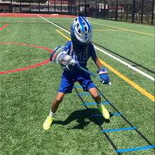 Load image into Gallery viewer, Agility ladder and speed training for lacrosse footwork