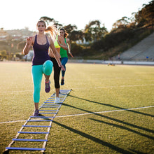Load image into Gallery viewer, Agility Ladder + Agility Cones Training Set group or team training there fitness workout
