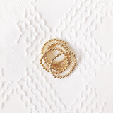 The Large Classic Stack: Bracelets with Large Gold Beads
