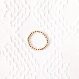 The Large Classic: Bracelet with Large Gold Beads