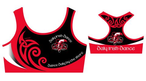 Daly Irish Dance Crop Top