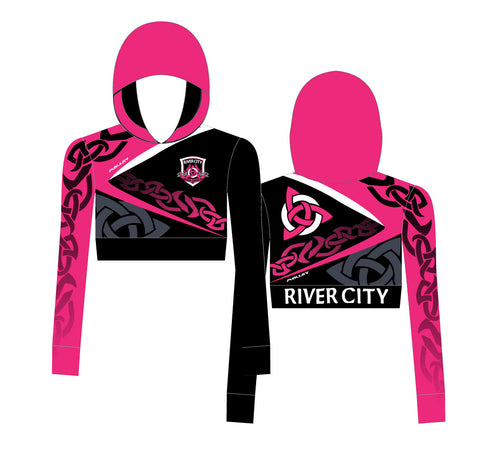 River City Cropped Hoody