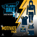 Milwaukee Academy 50% OFF MOTIVATE PACK 6 PIECE