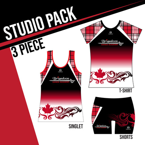 BRIGADOON STUDIO PACK 3 PIECE